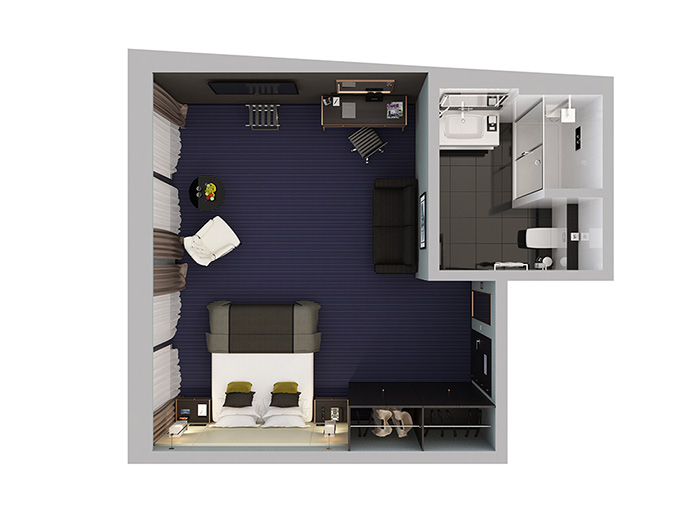 Montcalm Suite Floorplan