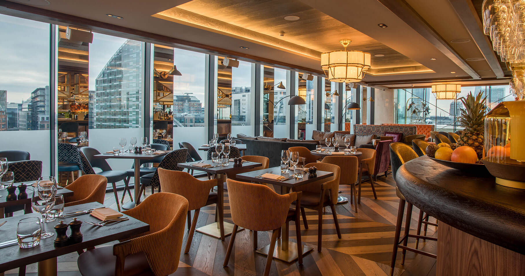 Restaurants And Bars In Finsbury Square London